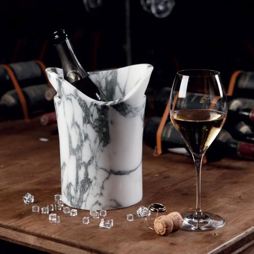 Secchiello per vino e champagne in marmo